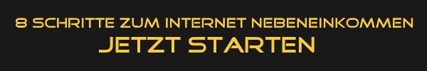 Thema Nebenjob Internet: In 8 Schritten zum erfolgreichen Internet Nebeneinkommen