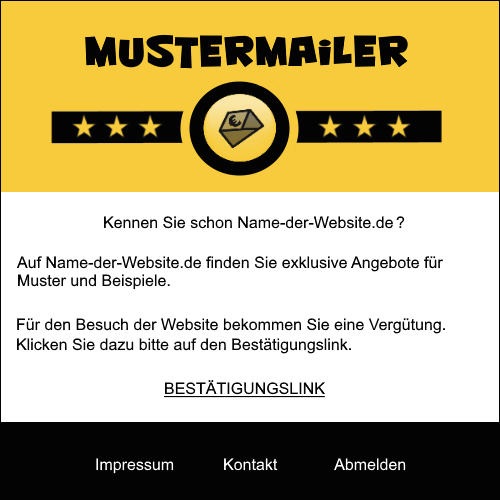 Muster-Paidmail