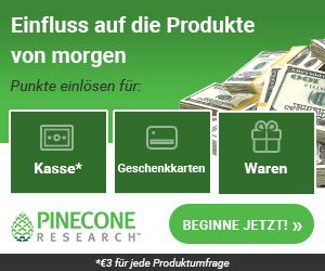 Pincecone Research Bezahlte Umfragen - Geld verdienen